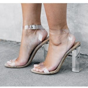 JUST LISTED! Ego Official Ariana Clear Heel